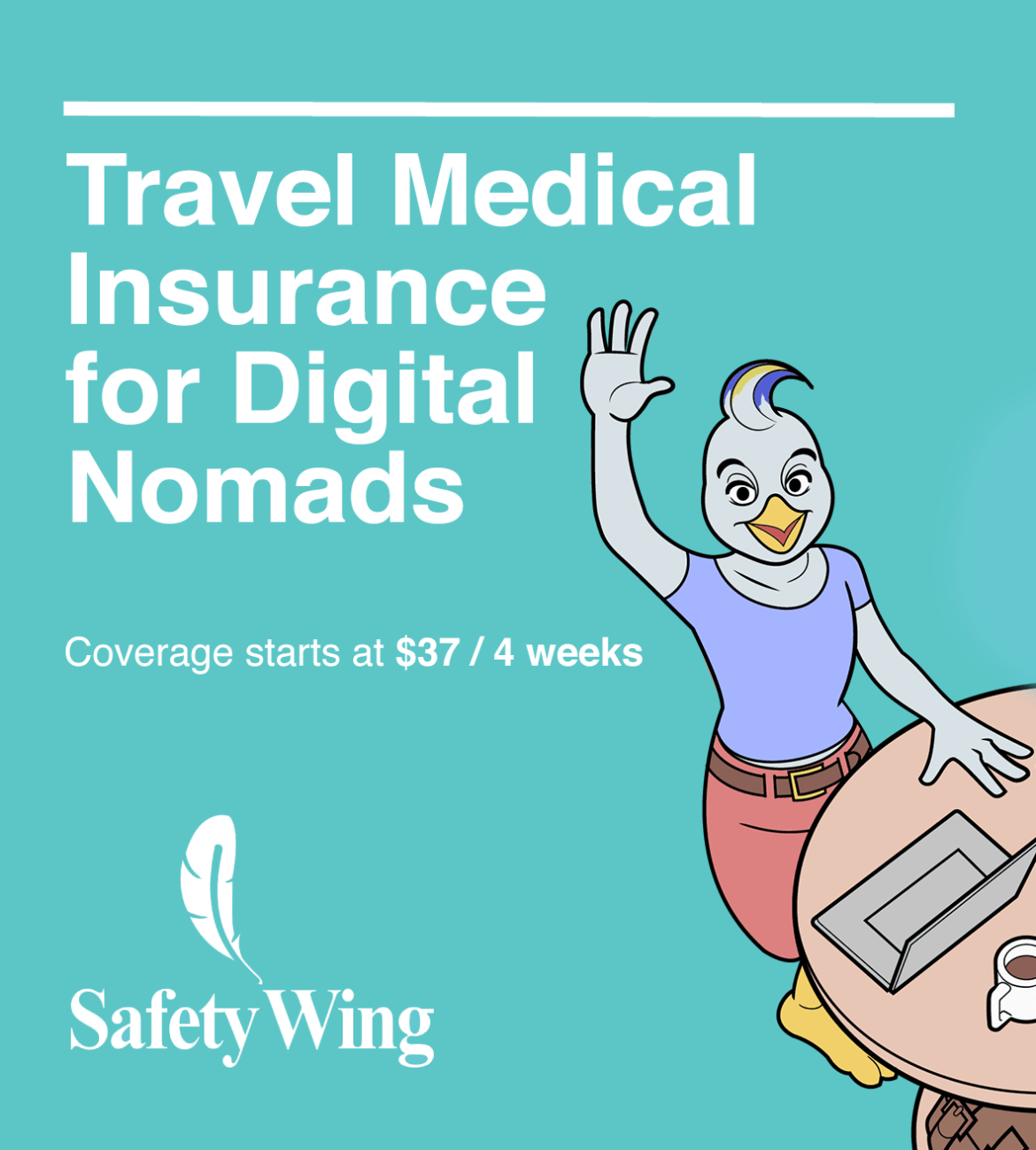 SafetyWing Travel & Medical Insurance for Nomads