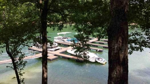 Boating on Smith Lake