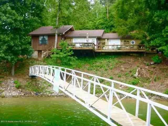 Houses on Smith Lake