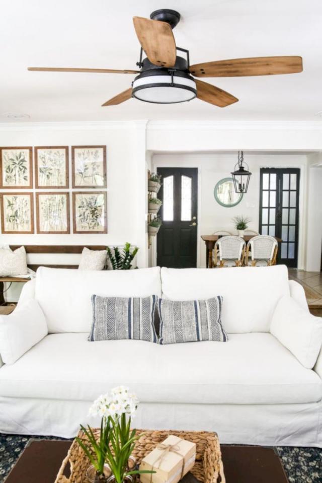 30+ Exciting Farmhouse Living Room Decor Ideas on a Budget ...