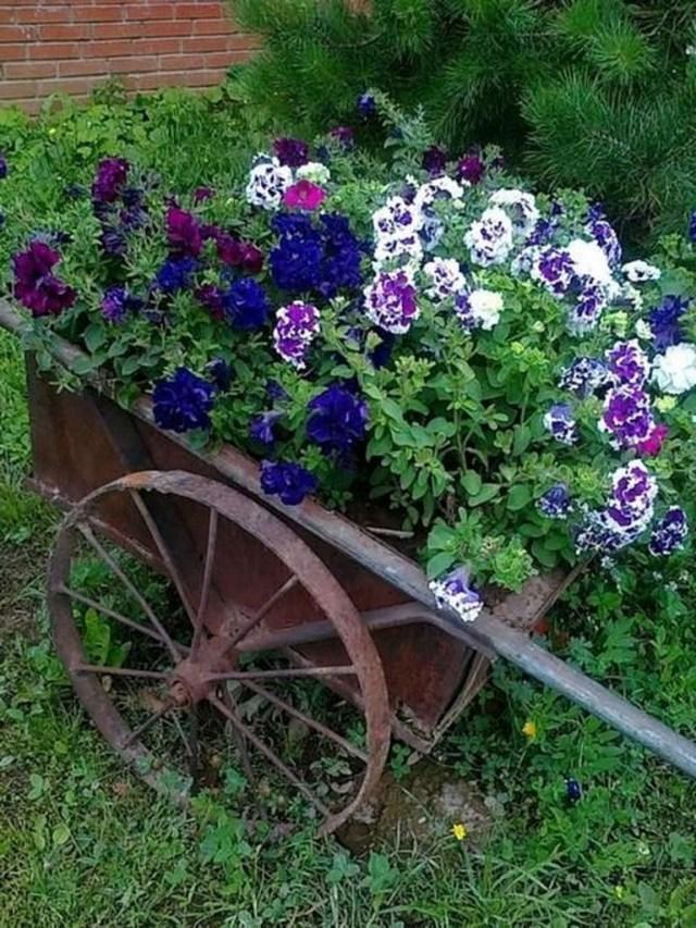 35 Lovely Summer Container Garden Decoration Ideas