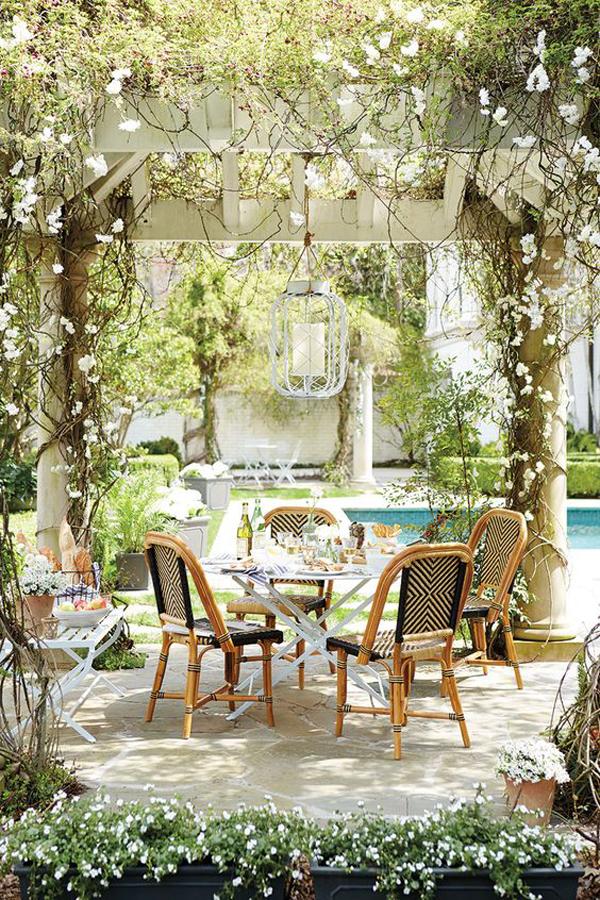 20 Cozy and Romantic Pergola Decor Ideas | House Design ... on Romantic Backyard Ideas id=24906