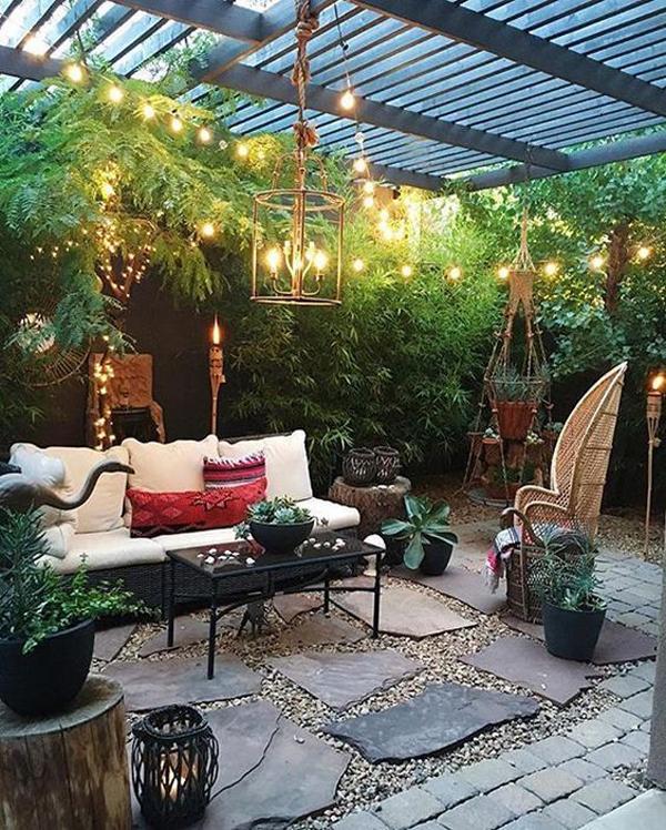 20 Cozy and Romantic Pergola Decor Ideas | House Design ... on Romantic Backyard Ideas id=18188