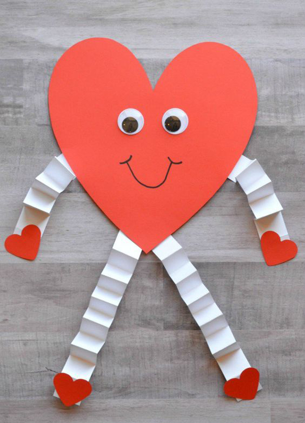 20 Cute And Easy Valentines Day Crafts For Kids House