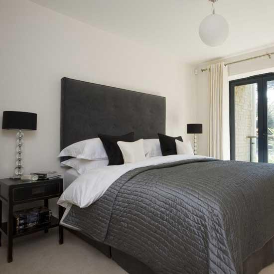 Monochrome bedroom| Modern bedrooms | PHOTO GALLERY