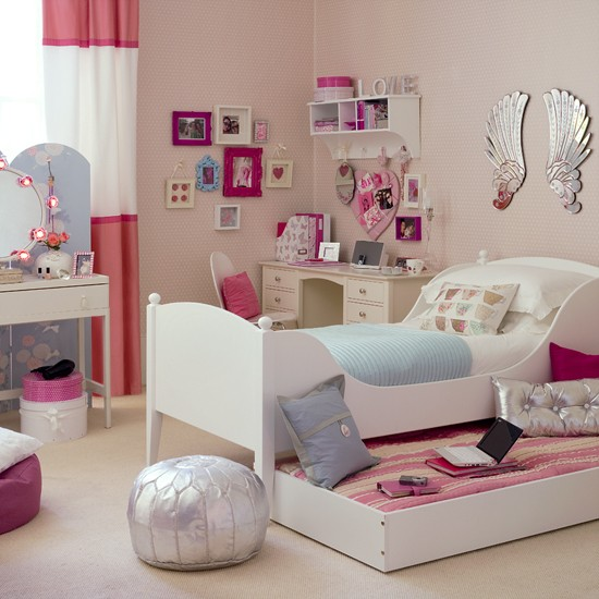 Bedroom and study | Girl's bedroom ideas | Image | Housetohome