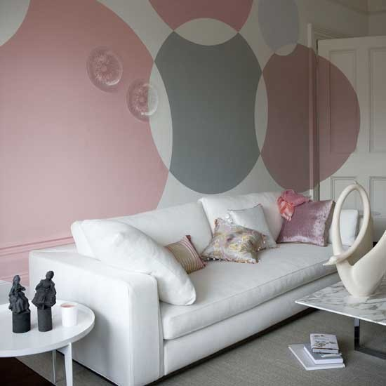 Paint statement circles | Transform your walls | Home ideas | PHOTO GALLERY | Housetohome.co.uk