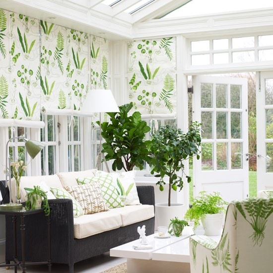 Formal conservatory living area | Country conservatories | Conservatory design ideas | PHOTO GALLERY | Housetohome