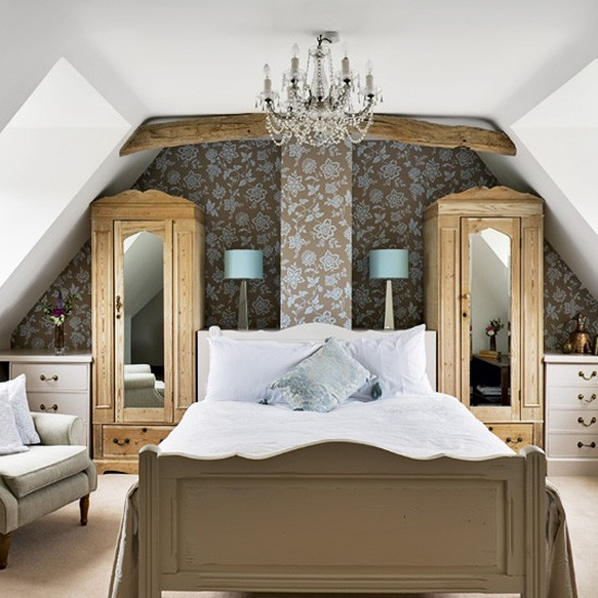 Glamorous attic bedroom | Bedroom | Bedroom design ideas best of 2010 | PHOTO GALLERY