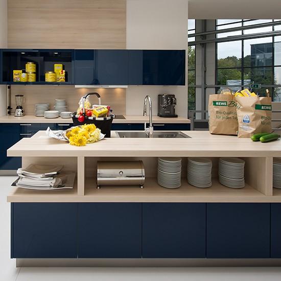 Mark David's Nolte Trend Lack kitchen | Kitchen ideas from Mark David | Housetohome.co.uk