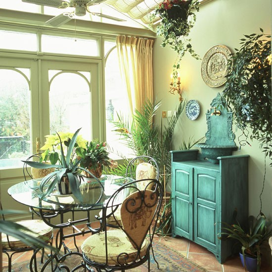 Rustic garden room | Garden rooms | Conservatory | Garden room extensions | PHOTO GALLERY | 25 Beautiful Homes | Housetohome