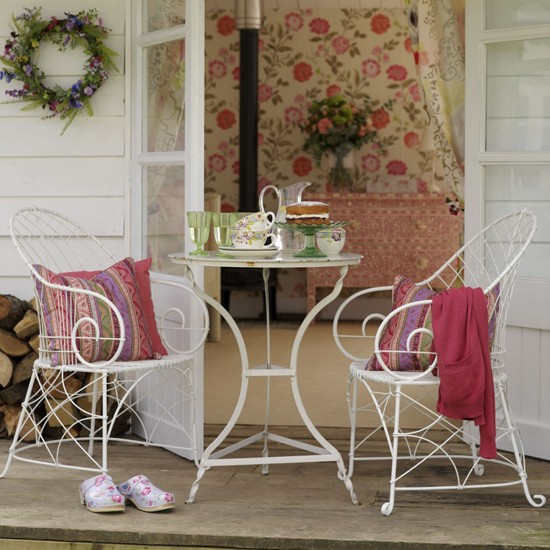 Patio drinks area image | Garden design | Decorating ideas | Image | Housetohome