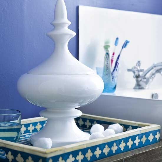 Simple bathroom storage   Bathroom finishing touches   Bathroom accessories   PHOTO GALLERY   Housetohome