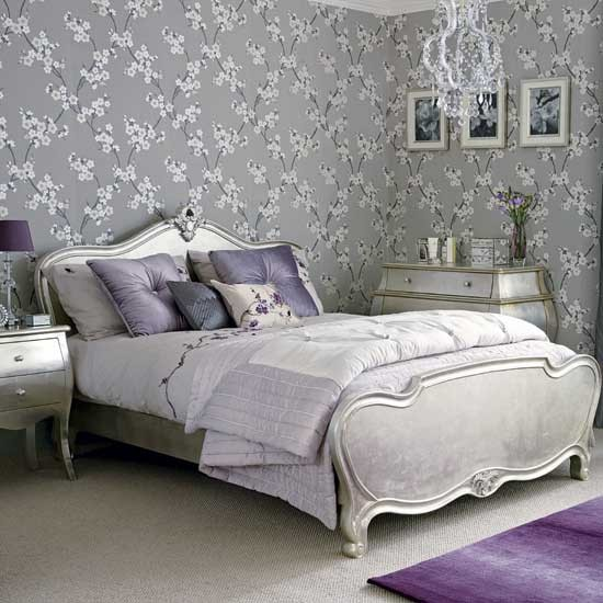 Glamorous Silver Bedroom Hotel Style Bedrooms 10 Of