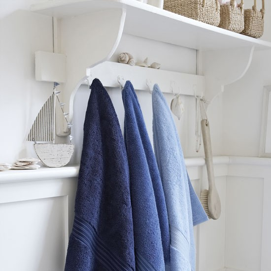 Simple wall hooks   Bathroom finishing touches   Bathroom accessories   PHOTO GALLERY   Housetohome
