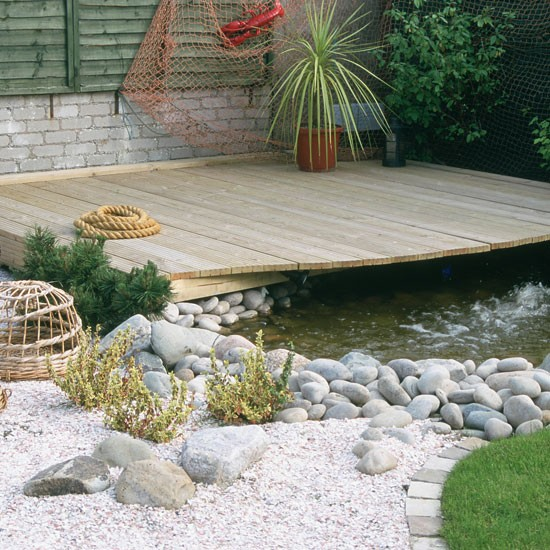 Nautical garden | Garden design ideas | Decking ... on Nautical Patio Ideas  id=14151