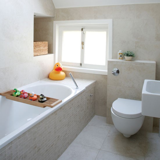 Small neutral bathroom on Small Bathroom Ideas Uk id=21974