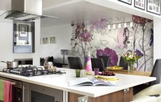 28 Most Beautiful Kitchen Wallpaper Ideas That You've Never Seen