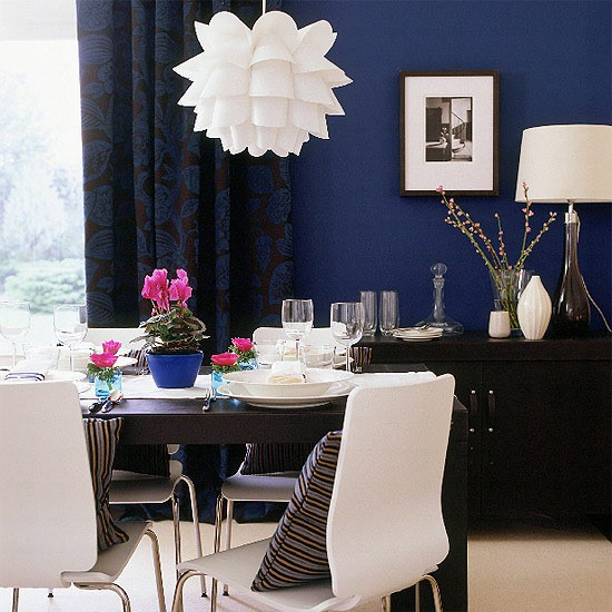 Midnight Blue Dining Room Colourful Dining Room Ideas 10 Of The Best