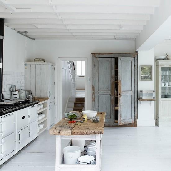 Kitchen | Cool, calm renovation house tour