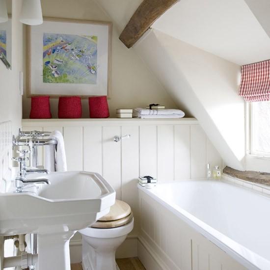 Small cosy bathroom | Small bathroom design ideas ... on Small Bathroom Ideas Uk id=48305