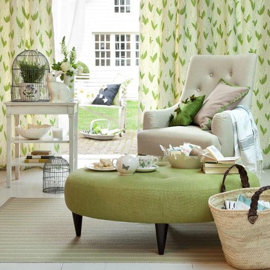 Secret garden living room | Country decorating ideas | Country Homes & Interiors | Housetohome