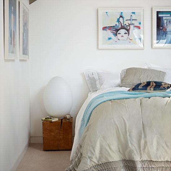 Modern neutral bedroom | housetohome.co.uk