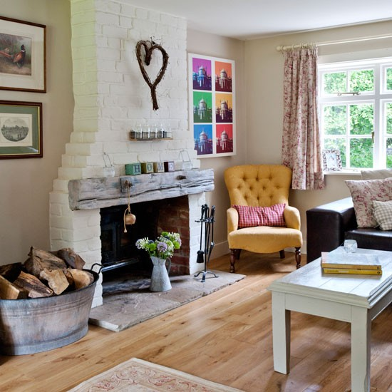 Country Homes Living Room Ideas