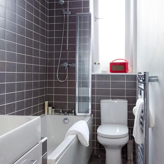 Tiny bathrooms   Small bathroom design ideas   housetohome ... on Small Space Small Bathroom Ideas Uk id=25134