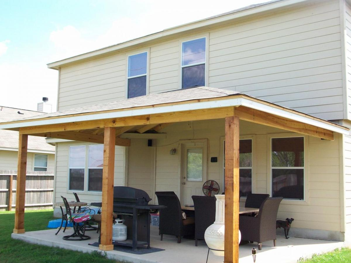 how to build a porch roof with your own