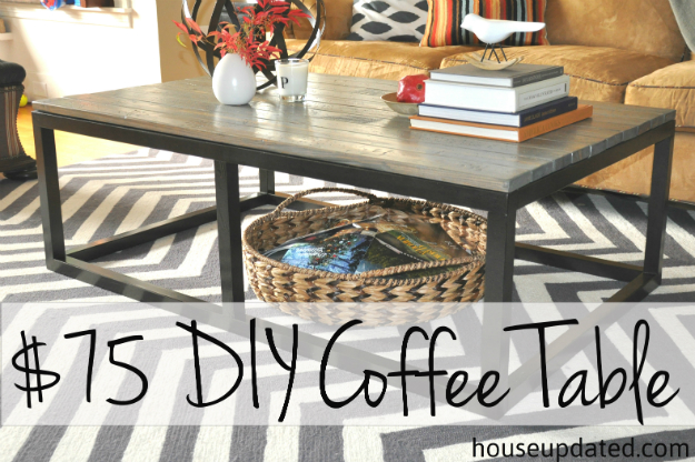 How To Make Your Own Glass Coffee Table