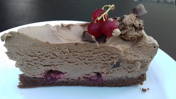 Chocolate Tart with Grapes! Amazing Low-Carb, Dessert Recipe