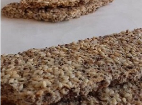 Chia Seed Bars - Super Crunchy Keto Snack - Recipe