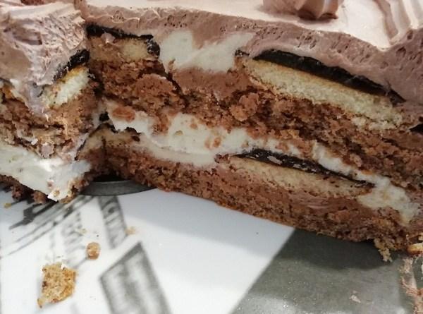 Jaffa Cake with Jaffa Cakes! Homemade, Triple-Decker Cake Recipe