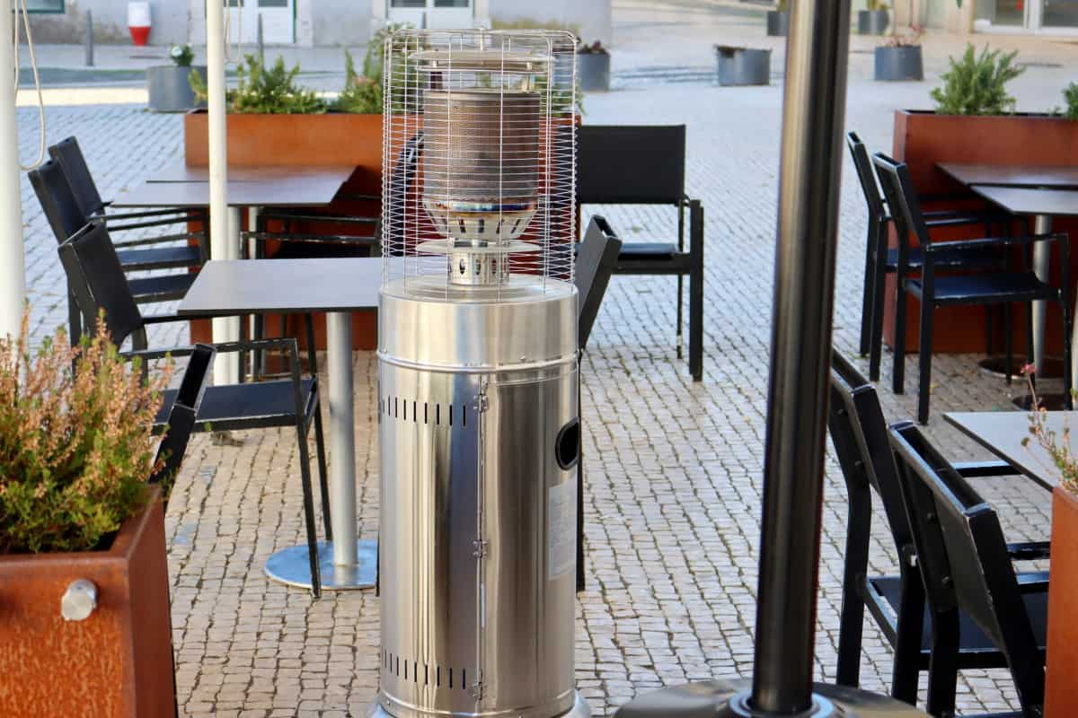 are patio heaters loud pick the right