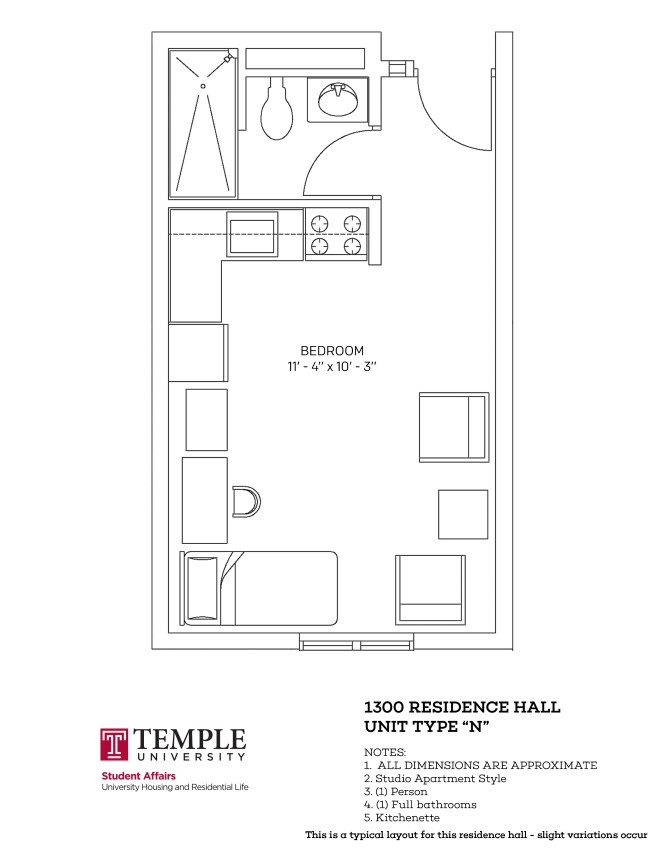 Typical Studio Apartment Layout ~ Nice Apartement