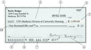 Personal Check Payments – University Housing – UW–Madison