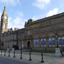 Bootle Town Hall, the headquarters of Sefton Council.