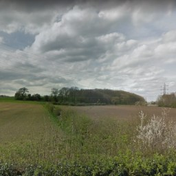 The rural 18-acre site Yorkhire Housing has acquired in Knaresborough.
