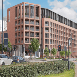 Credit: A CGI of United Living's scheme at The Guinness Partnership's Points Cross development in Leeds.
