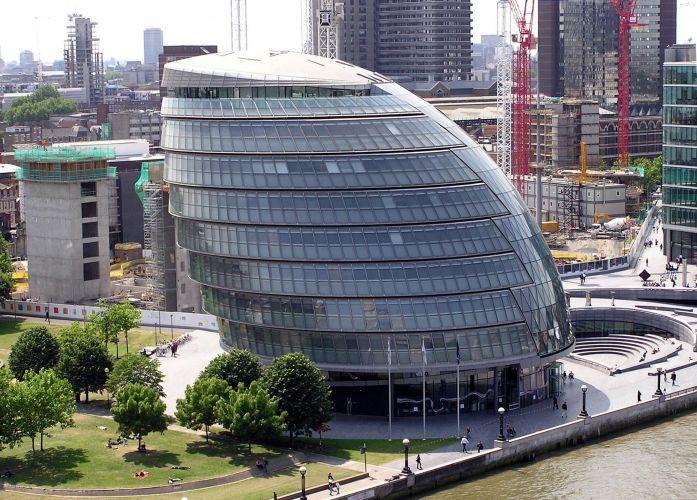 City Hall, London.