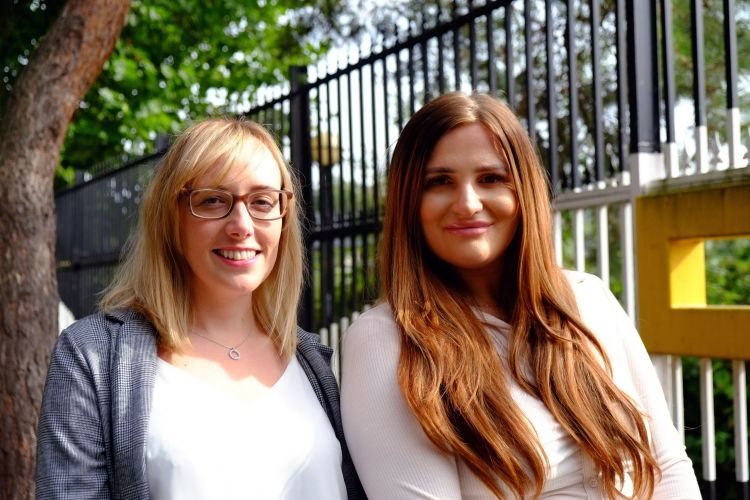 (L-R) Vicky Clayton and Robyn Bergin_ Customer Success Managers_Voicescape