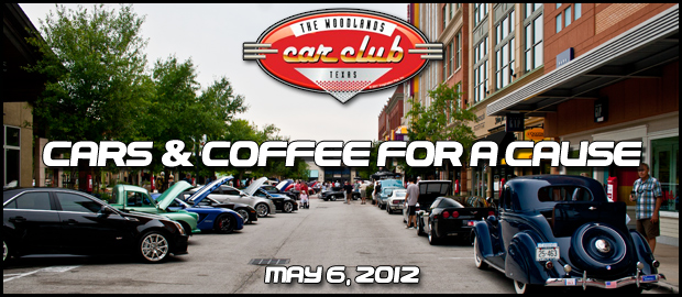 The Woodlands Car Club's Cars & Coffee For A Cause