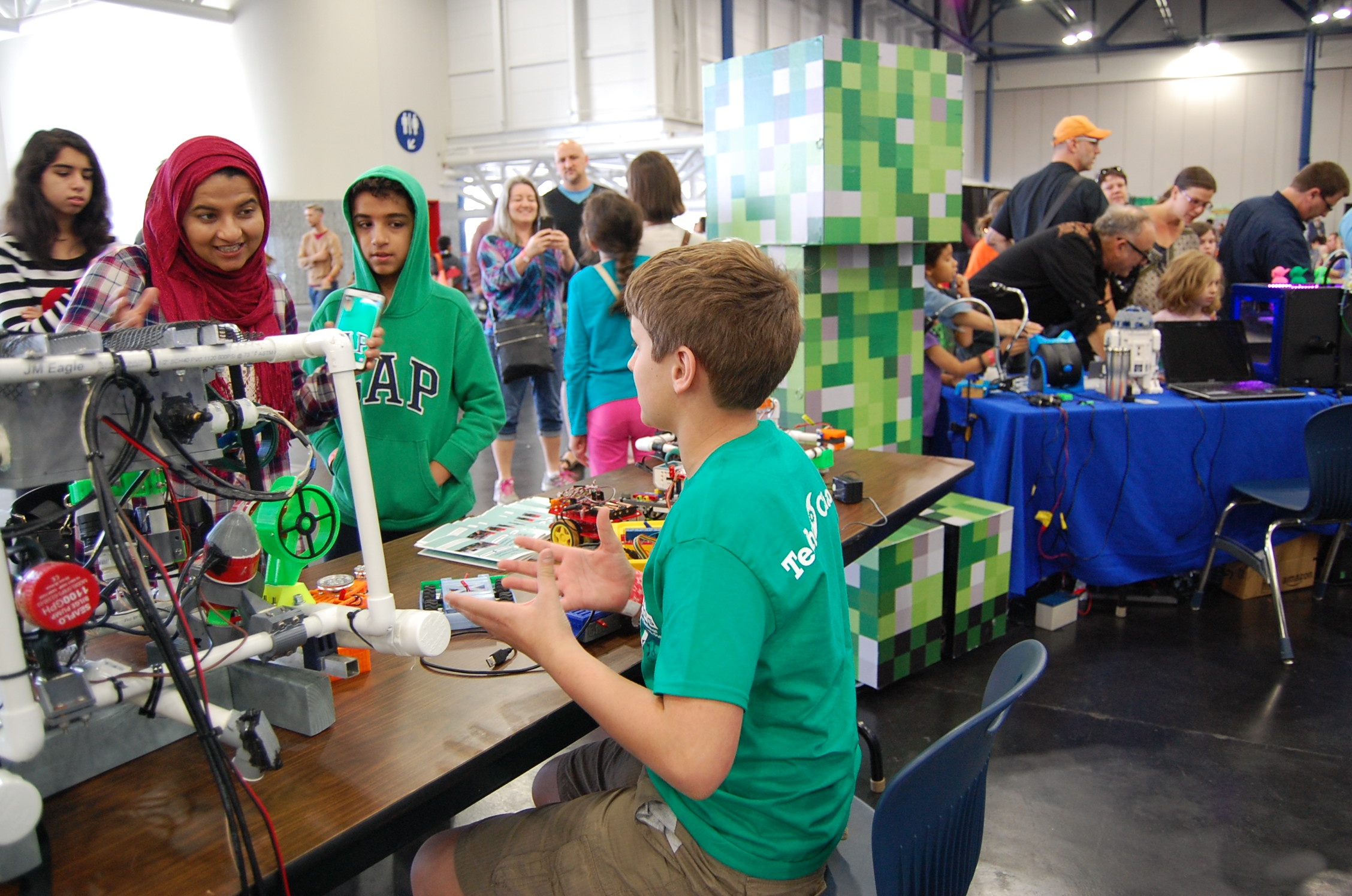 The Joy Of Learning At Maker Faire Houston Maker Faire