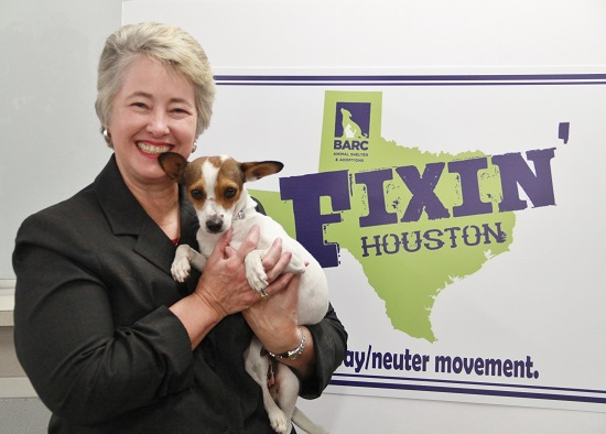 Mayor with Pet of the Week - Lily