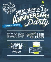 Great Heights 1st Anniversary