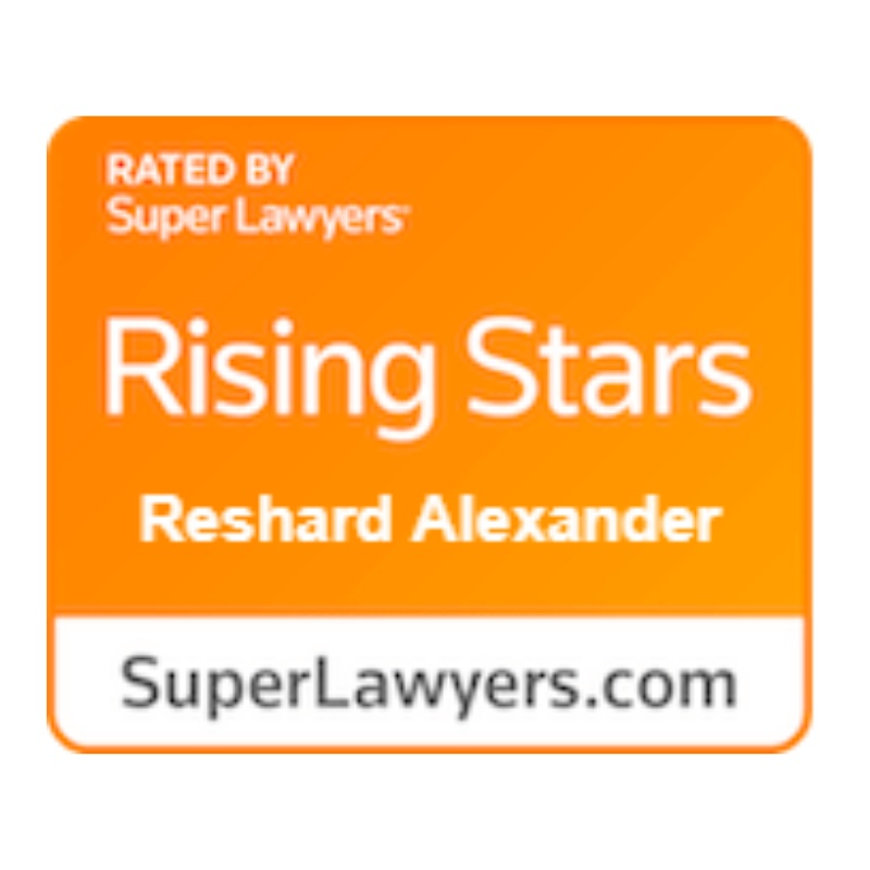 best houston truck accident lawyer - rising stars super lawyer award reshard alexander