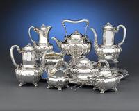 Sell silver tea set