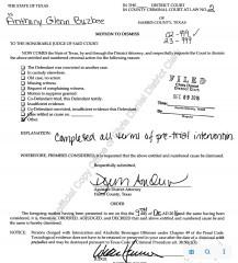 Buzbee Dismissal