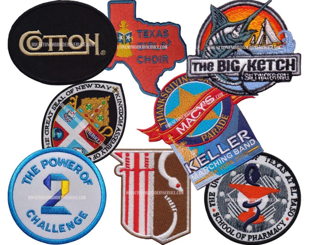 Custom made Embroidered Patches for Your Uniforms